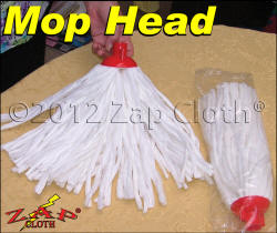 Streak Free Zap Mop Head with Zezo-Fiber will zap streaks