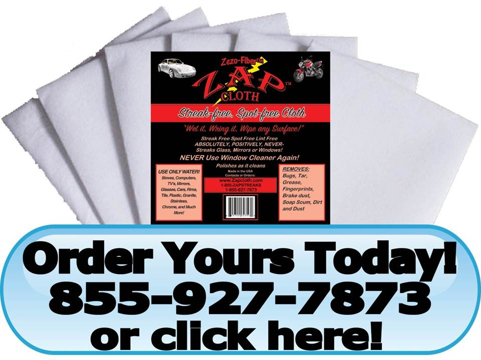 Zap Cloth® Wholesale Distributors Wanted