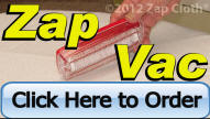 Order Zap Vac - world's smallest vacuum cleaner