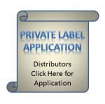 Private Label Application form