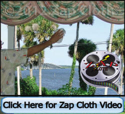Watch Zap Cloth User Demo